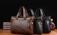 Мужские кожанные сумки