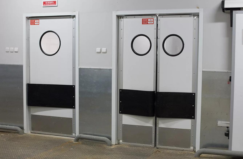 Маятниковые двери секреты производства