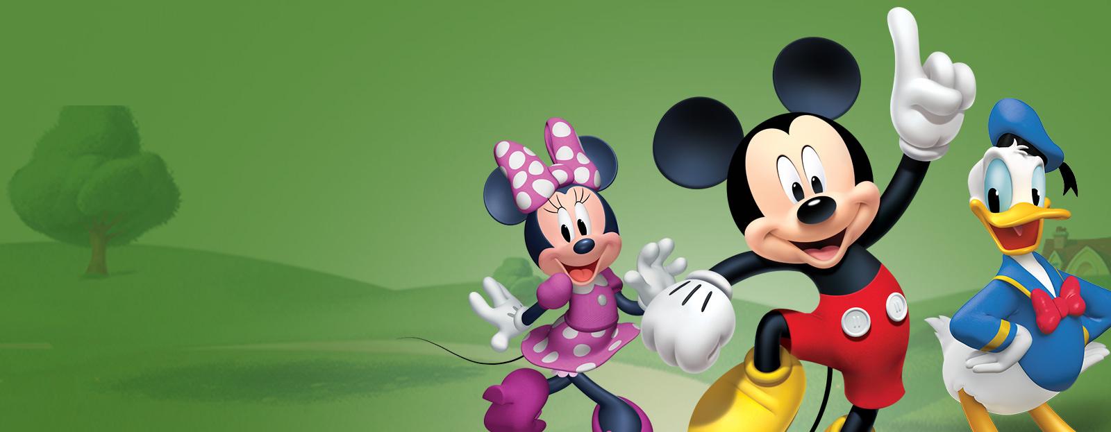 Микки и Минни Маус – герои из детства
