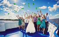 Свадьба на теплоходе – возможные варианты расстановки столов