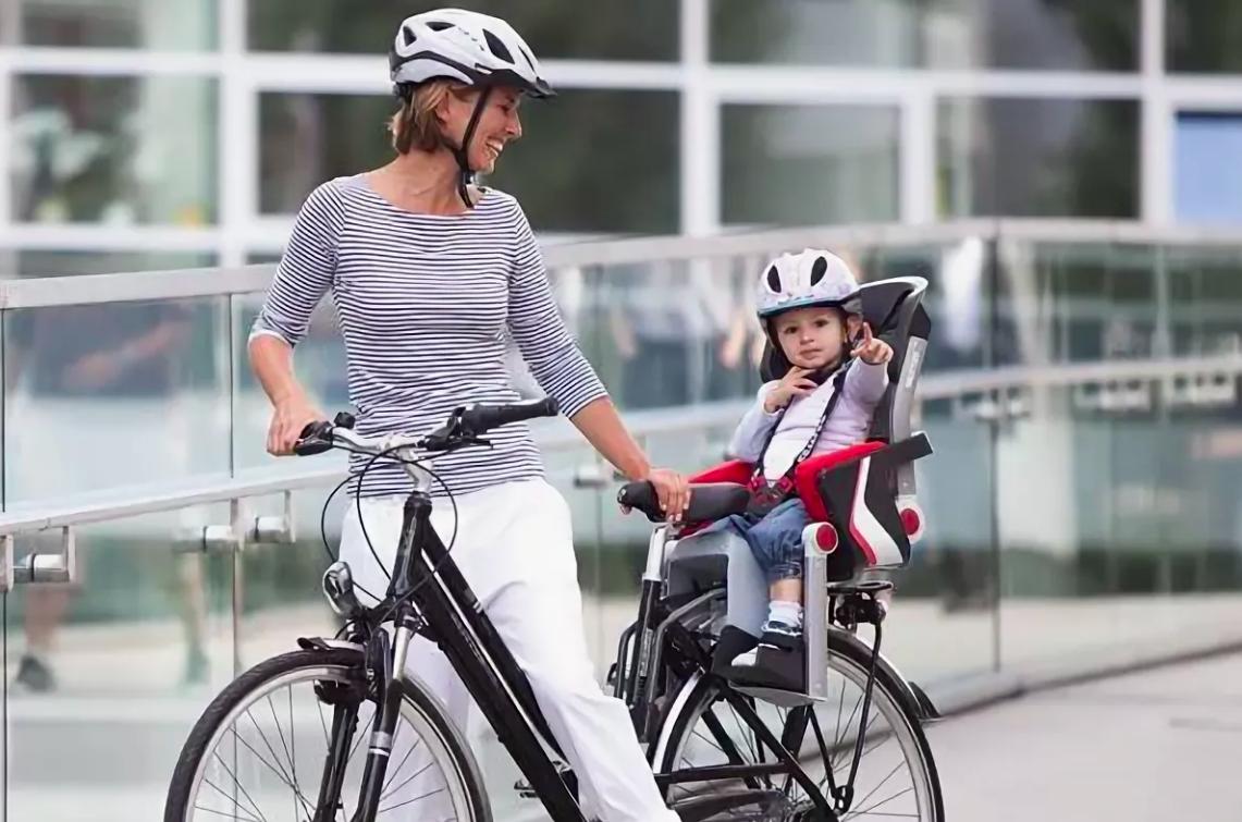 Велосипед как взять с собой ребенка