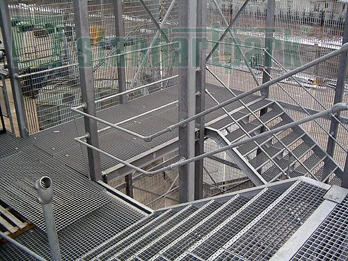 Обустройство противопожарной инфраструктуры с использованием решетчатого настила