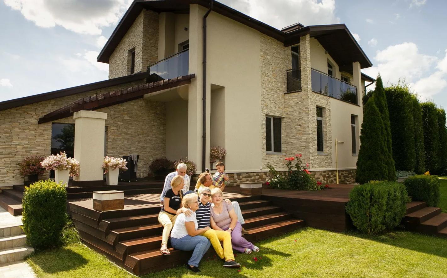 понадобится картинки красивых семейных домов так