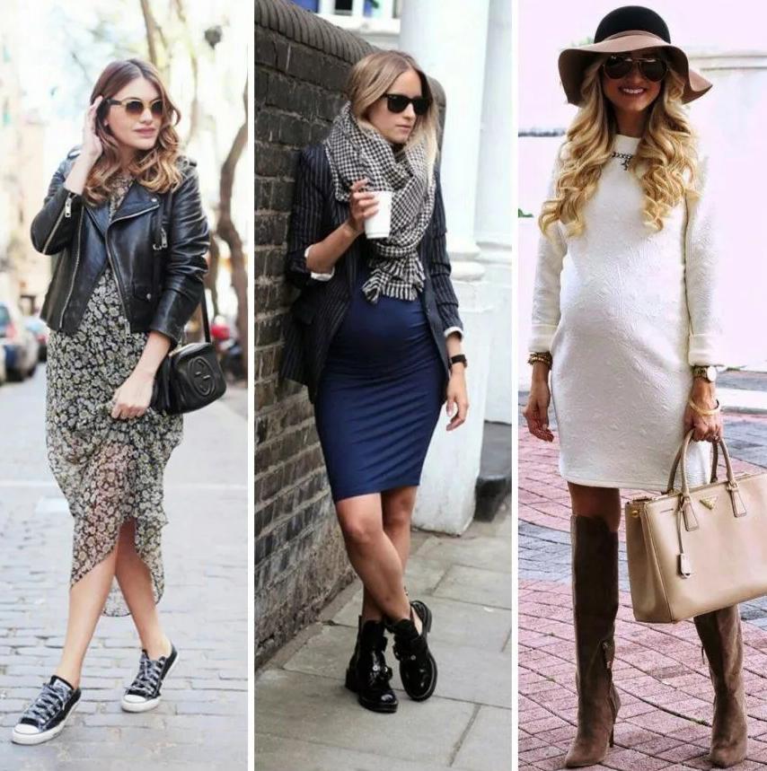 Как оставаться стильной в период беременности?