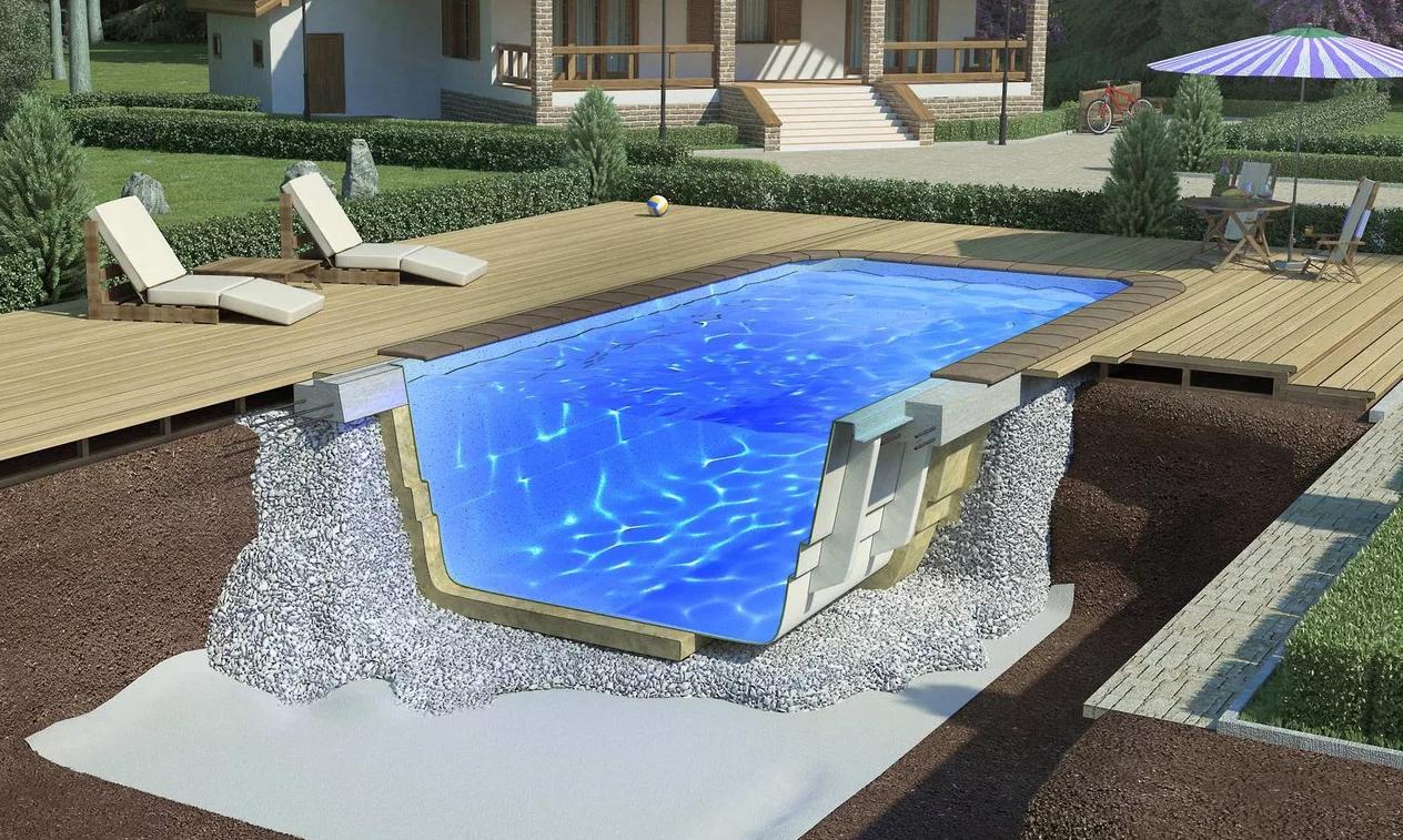 Качественное строительство бассейнов