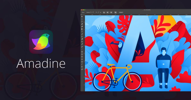 AMADINE – достойное приложение для векторной графики