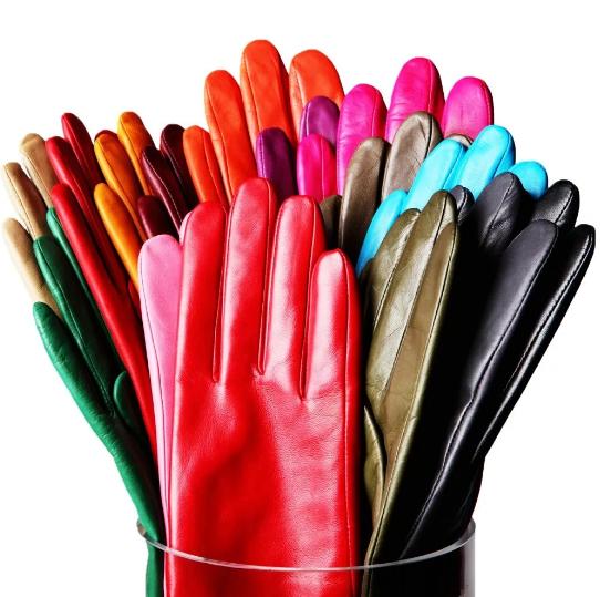 Натуральные кожаные перчатки из Европы в Москве