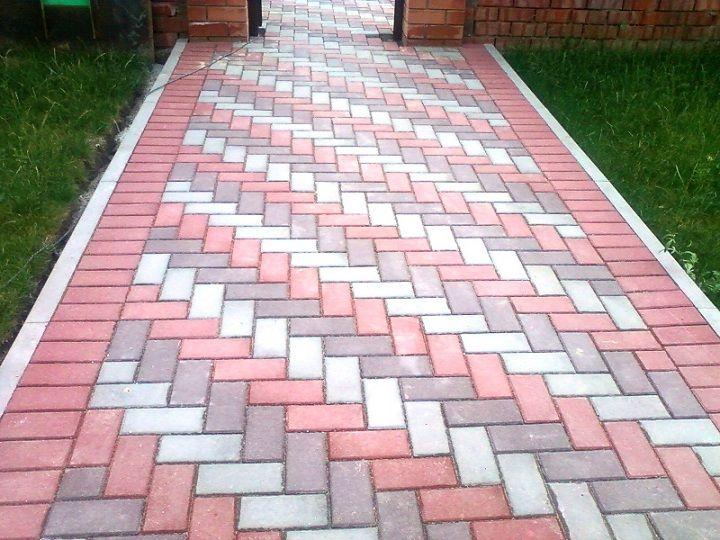 Тротуарная плитка: разновидности, достоинства и методы изготовления