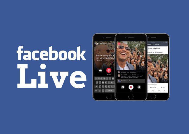 Что такое прямые трансляции в Facebook?