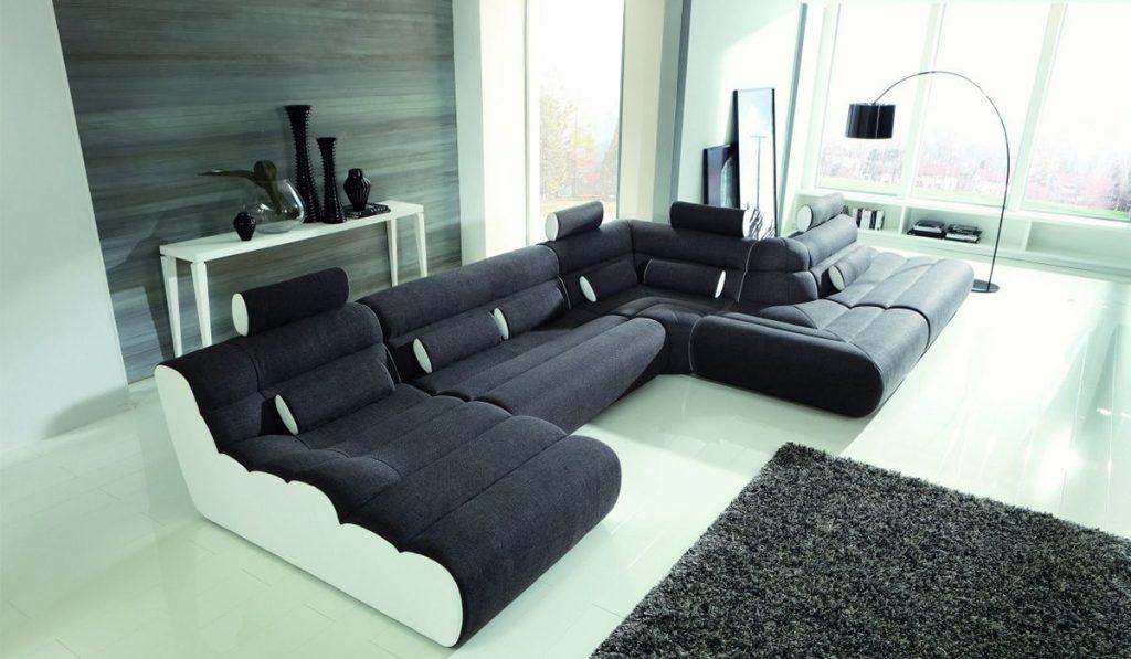 Как подобрать модульный диван для комнаты