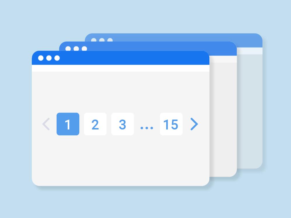 Как оптимизировать страницы пагинации?
