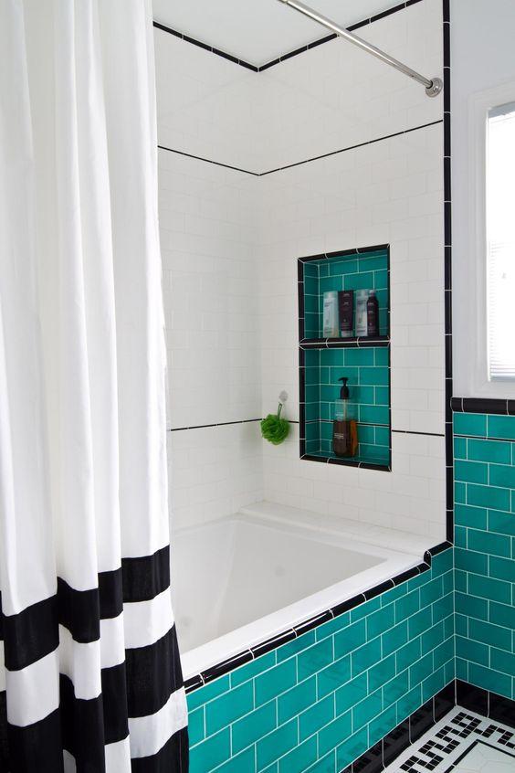 Бирюзовая Ванная комната - нюансы дизайна