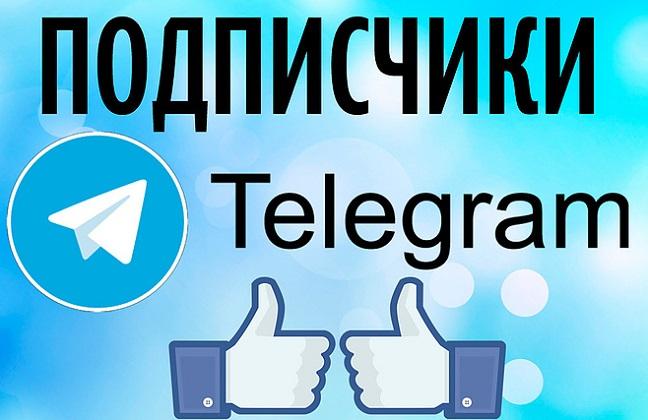 купить подписчиков в телеграм