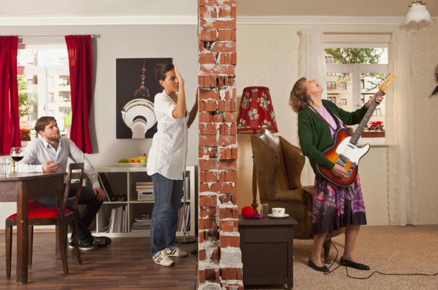 Ковер как шумоизоляция стен в квартире