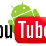 Программа YouTube для Android