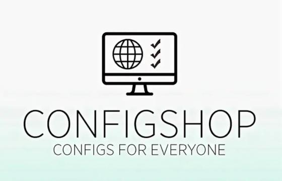 Описание ресурса Configshop с конфигами