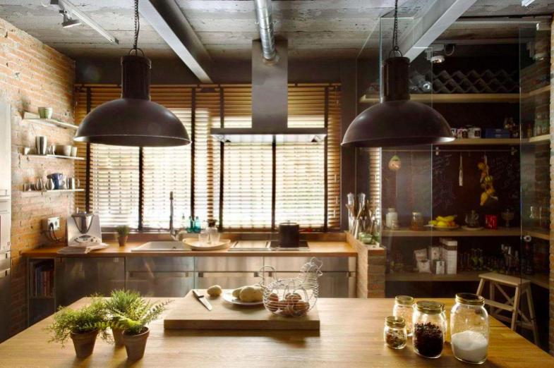 Сочетание современных и устаревших тенденций в дизайне предметов мебели - лофт