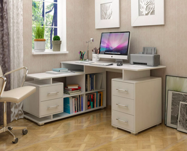 Письменный и компьютерный столы
