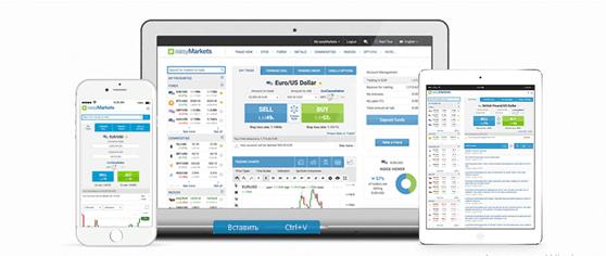 EasyMarkets предоставляет удобные платформы для ведения торговли с любых устройств