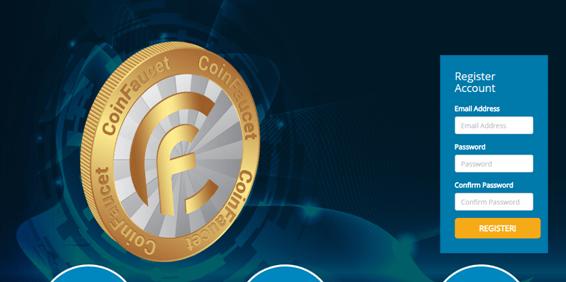 Простая процедура регистрации на сайте для добычи криптовалюты