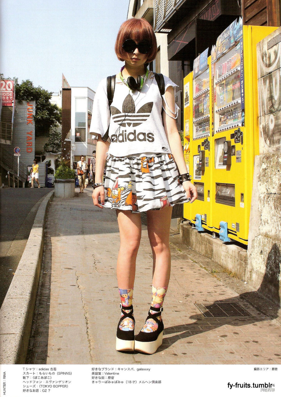 Tokyo Fashion News - Official Site Fruits japanese street fashion magazine