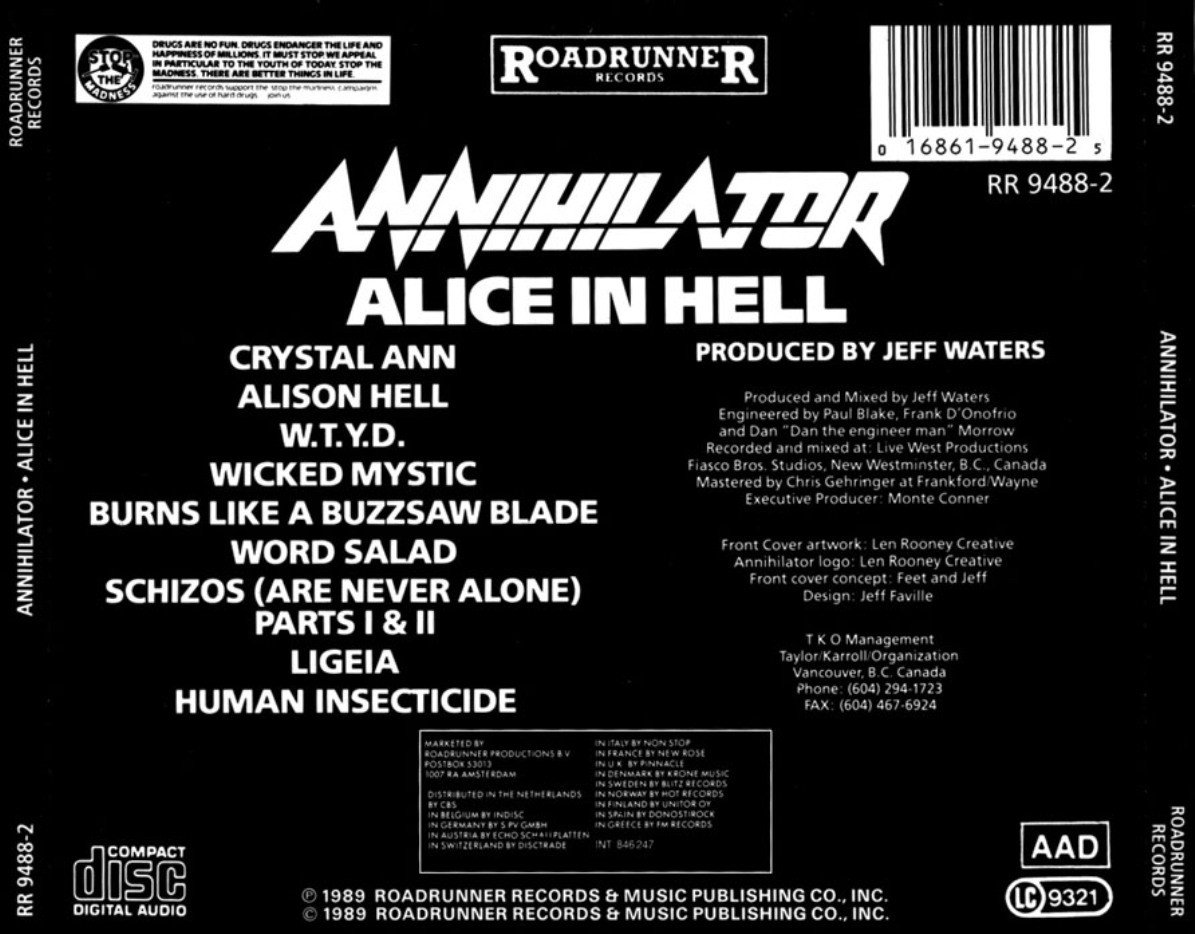 Annihilator Alice In Hell Mp3 Download Mp3Juices