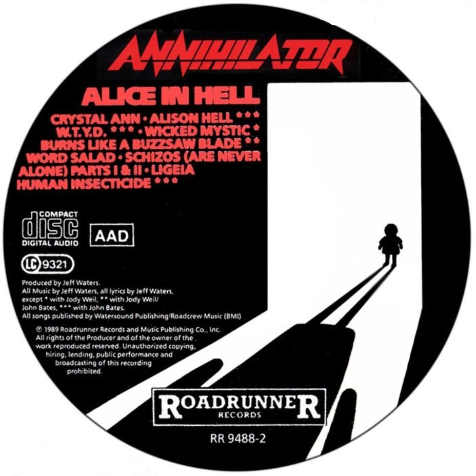 Annihilator Alice In Hell Mp3 Download 313 MB