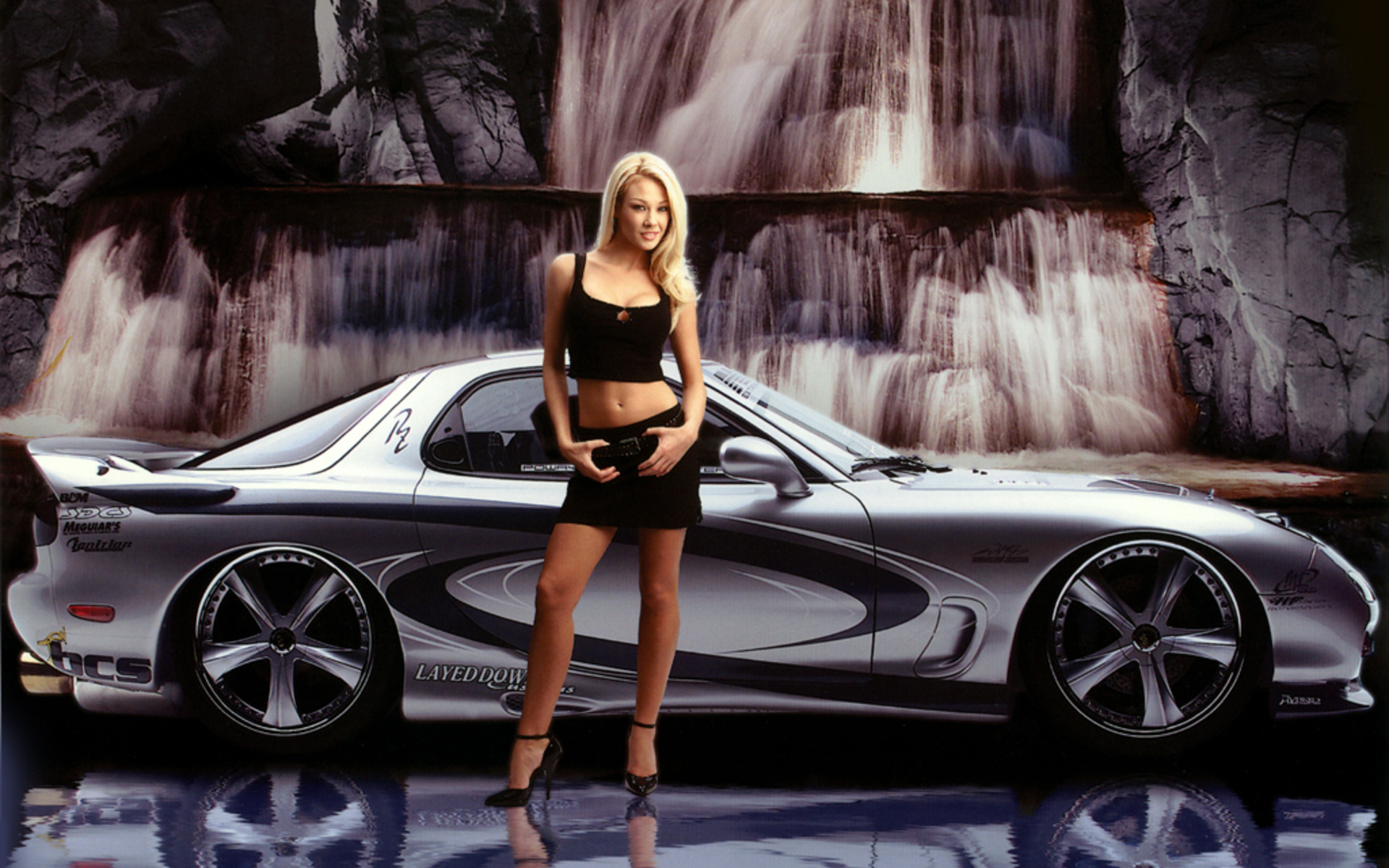 Smooth hot cool cars and girls