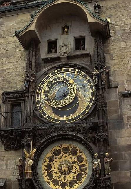 Создала. или Пражский Орлой (Prague Orloj) - это средневековые астрономические часы
