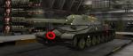 Маус.пробивается ИСУ-152,Федя -Ягодка, ТТ выше 8 лвла.  Плохо -Пантерой и Тигром(из Л71). всем остальным стрелять...